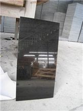 G684 Black Granite Polished Floor Tiles, China Black Granite