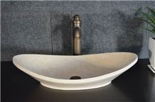 Galala Beige Marble Wash Basin