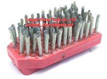 Fickert Steel Brush/Industrial Steel Wire Brush for Stone Material/Marble Granite Glass Abrasive Tools