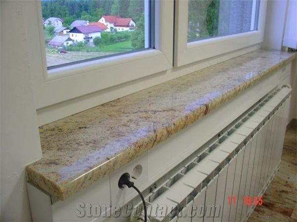 Ivory Brown Granite Interior And Exterior Window Sills From Slovenia