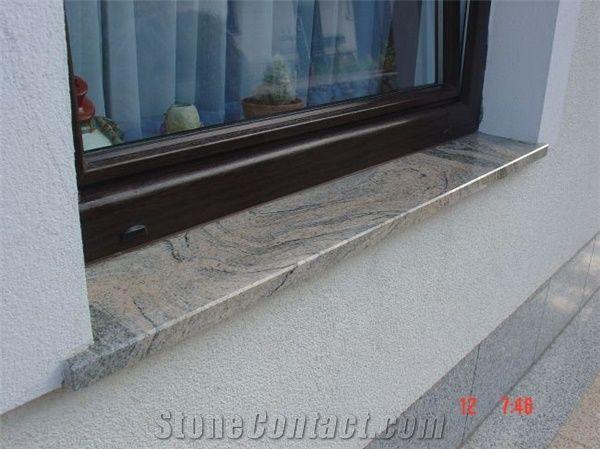 Juparana India Granite Exterior Sills From Slovenia Stonecontact