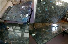 Labradorite Blue Granite Slabs,Tiles