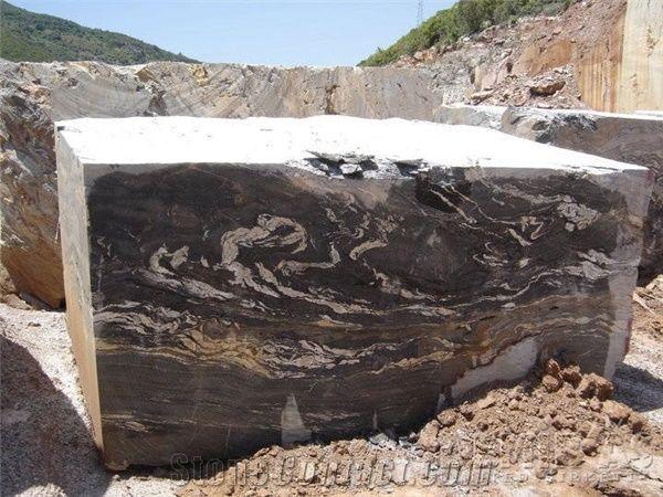 Golden Marble Blocks : Golden night marble blocks turkey black