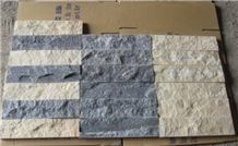 White Wall Panel, Mushroom Stone