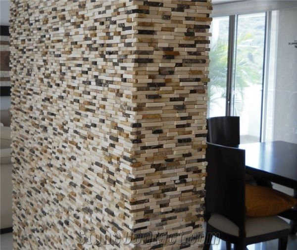 3d Stacked Stone Interior Wall Panels From Colombia