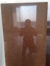 Diamond Red Granite Slabs Tiles Panel Wall Cladding Panel,Interior Walling Skirting Pattern