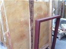 Polished Golden Empire Marble Slabs & Tiles, Iran Yellow Marble