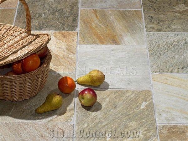 Oyster Slate Riven Finish Floor Tiles From United Kingdom