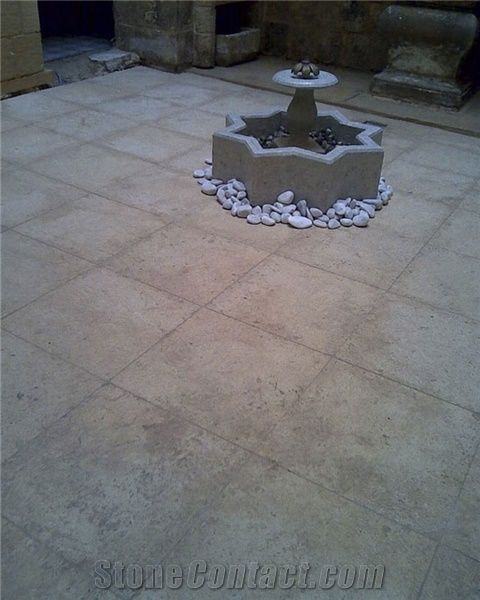 Malta Stone Honed Pavement, Patio Floor Tiles