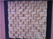 Beige Marble Tumbled Mosaic,Wall Mosaic