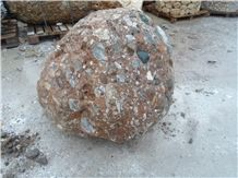 River Conglomerate Stone Garden Rock Stone