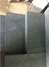 Chinese Own Quarry G654 Dark Grey Granite, Surface Flamed Steps Cobble for Paving Stone, Quarry Onwer, G654 Granite Paving Stone