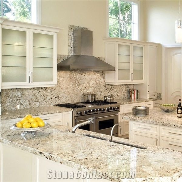 Kitchen Cabinets And Countertops Cost: Alaska White Granite Kithen Countertops From China