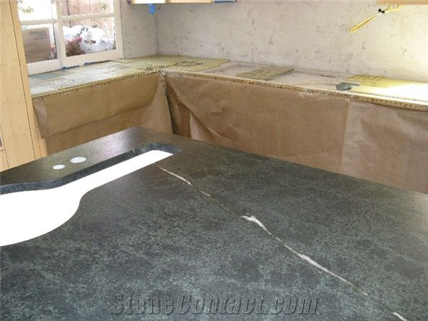 Brazil Green Majestic Soapstone Countertop From United