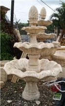 Palladium Coral Casting Fountain