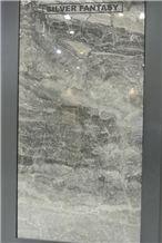 Silver Fantasy Marble Slabs, Tiles