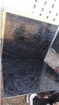 Black Marble Polished Tile, Abu Black Marble