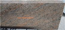 Raw Silk Pink, Brown Gold Granite Slabs & Tiles