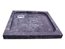 Shower Tray Model 70 Black Marble Shower Trays