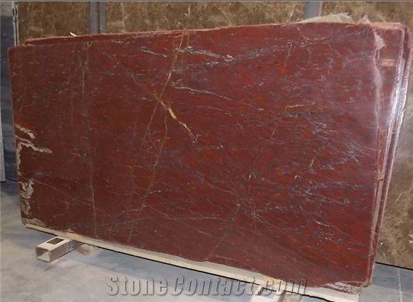 Rouge Griotte Marble Slabs Belgium Red