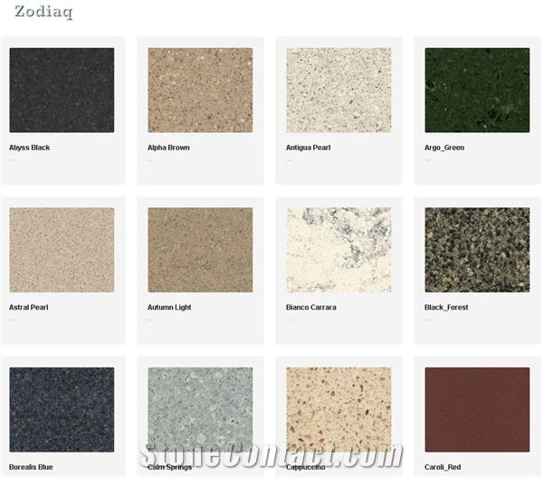 Dupont Zodiaq Quartz Surfaces From United States