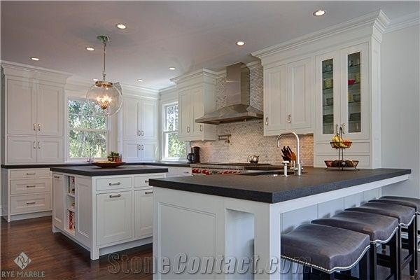 Leather Black Absolute Granite Kitchen Countertop Kitchen Island Top From United States Stonecontact Com