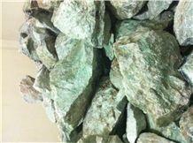 Jade Green Quartz Gemstone, Precious Stone