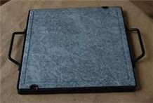 Soapstone Grilling Stone, Pietra Ollare Grey Soapstone Kitchen Accessories