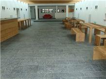 Sondrio Soapstone Floor Tiles, Pietra Ollare Soapstone, Grey Sandstone Tiles & Slabs, Flooring Tiles