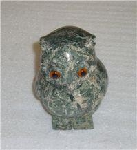 Green Granite Owl