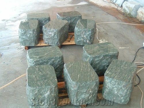 Stone Garden Stools
