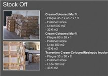 Crema Marfil Marble Tiles Off Stock, Spain Beige Marble