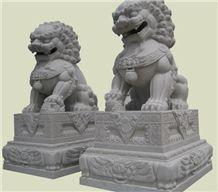 Grey Granite Animal Sculpture