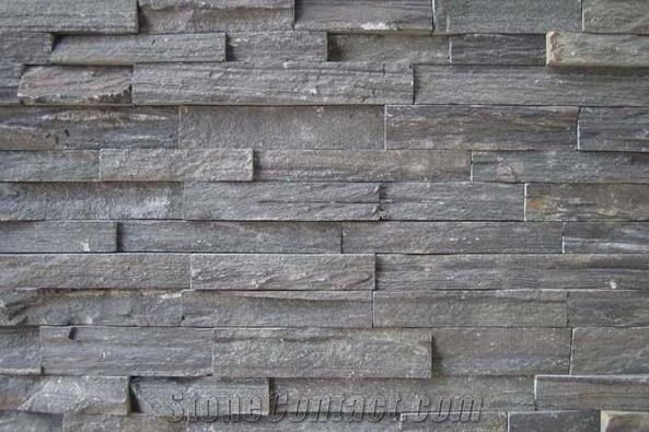 Grey Slate Cultured Stone From China 198551 Stonecontact Com