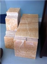 Yellow Onyx Tiles, China Yellow Onyx
