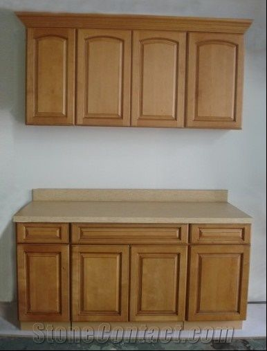 Kitchen Cabinet Countertops Beige Granite From China Stonecontact Com
