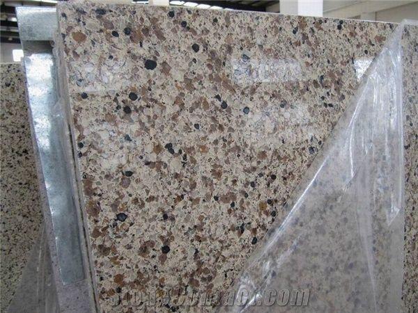 Sienna Ridge Quartz Stone Slab From China Stonecontact Com