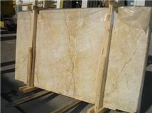 Yellow River Marble- Golden Spider
