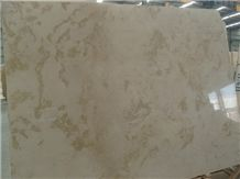Gold Flowers Marble Slab