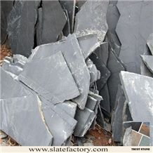 Black Slate Flagstone Pavers
