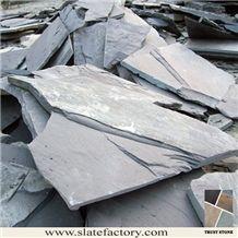 Black Slate Flagstone Tiles