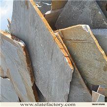 Irregular Slate Flagstone, Beige Slate Flagstone