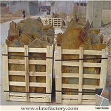 Multicolor Slate Natural Stone Paving