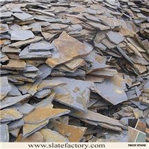 Rusty Slate Flagstone Pavers