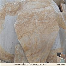 Yellow Quartzite Random Flagstone