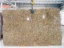 Giallo Fiorito Granite Big Slabs