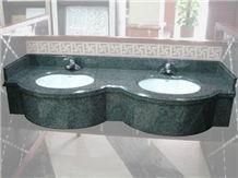 Ocean Green Granite Vanity Top