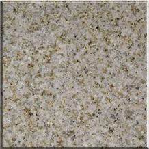 Zhangpu Rust Granite Flamed Tile, China Yellow Granite
