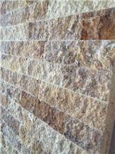Splitface Travertine Wall Cladding Panels, Denizli Beige Travertine