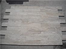 Durango Travertine Vein Cut Clearance Slabs, beige travertine split face mosaic for wall cladding
